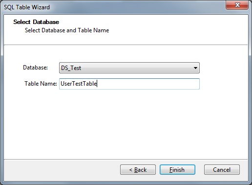 SQL Table Wizard
