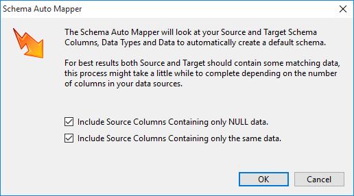 Automatic Schema Mapping