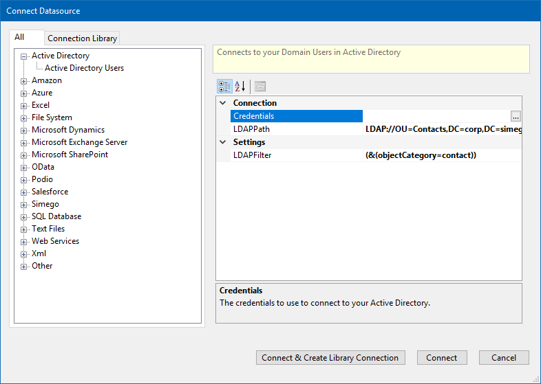 Import Contacts into Active Directory