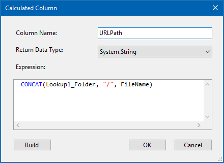 Creating a code for a Calculated Column
